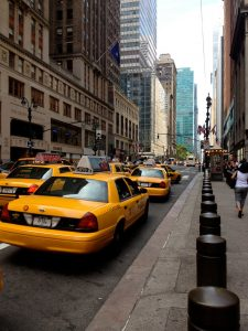 История индустрии такси в США.